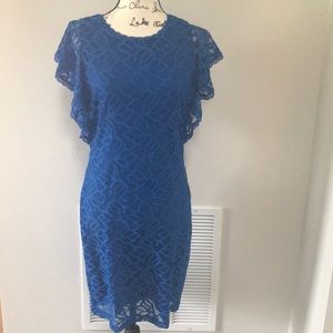 NEW Laundry by Design Lace Overlay Dress